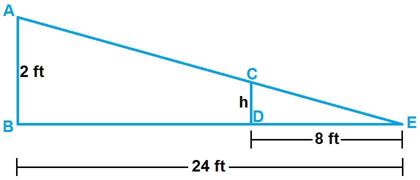 Finding Missing Measures In Similar Triangles Worksheet