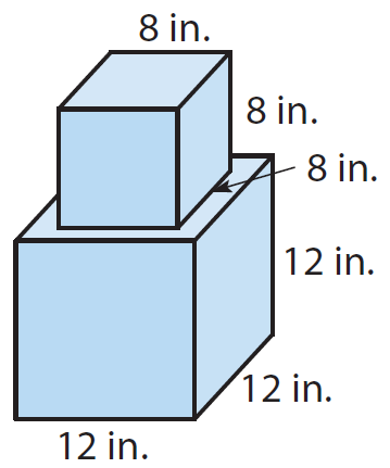 Surface area of a composite solid worksheet