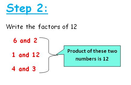 factoring quadratic equations shortcuts