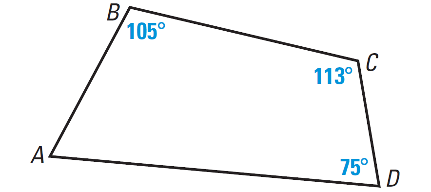 Interior Angles Of A Quadrilateral Worksheet