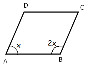 In The Parallelogram Abcd Given Below Find A B C And D