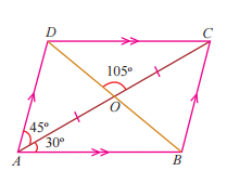 In The Parallelogram Given Below Find Measures Of Abo And Acb