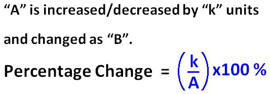 Percentage Increase Calculator – Percent Increase Decrease Worksheet