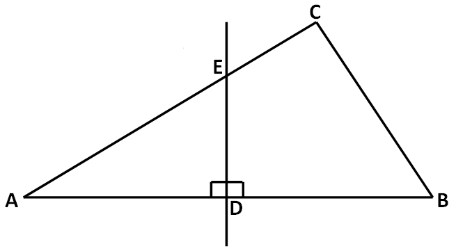 how to find the perpendicular bisector of two points