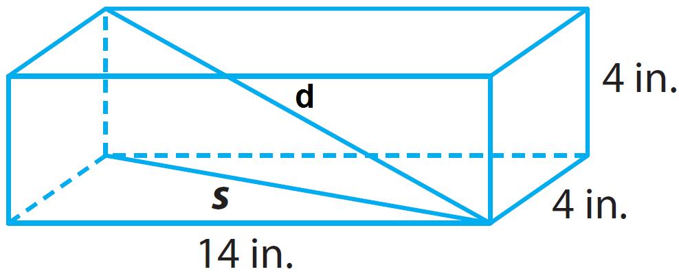 Pythagorean theorem in three dimensions worksheet