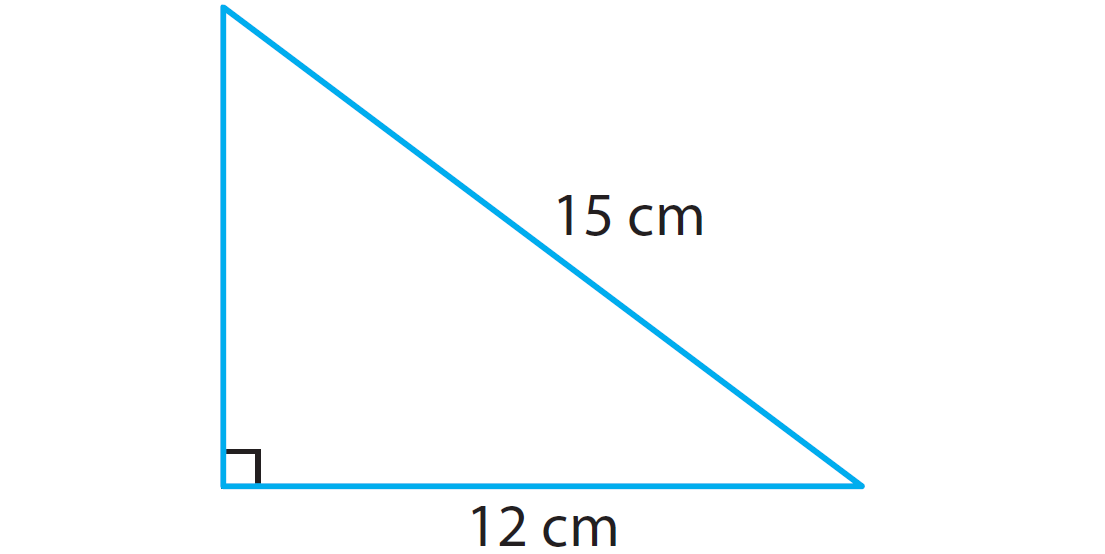 In The Right Triangle Given Below, Find The Length Of The Missing Side  Using Pythagorean Theorem.