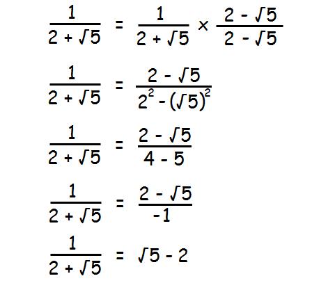 Simplifying Radical Expressions with Conjugates Worksheet