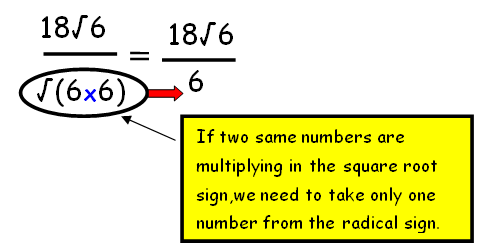 Simplify Radical Expressions By Rationalizing The Denominator