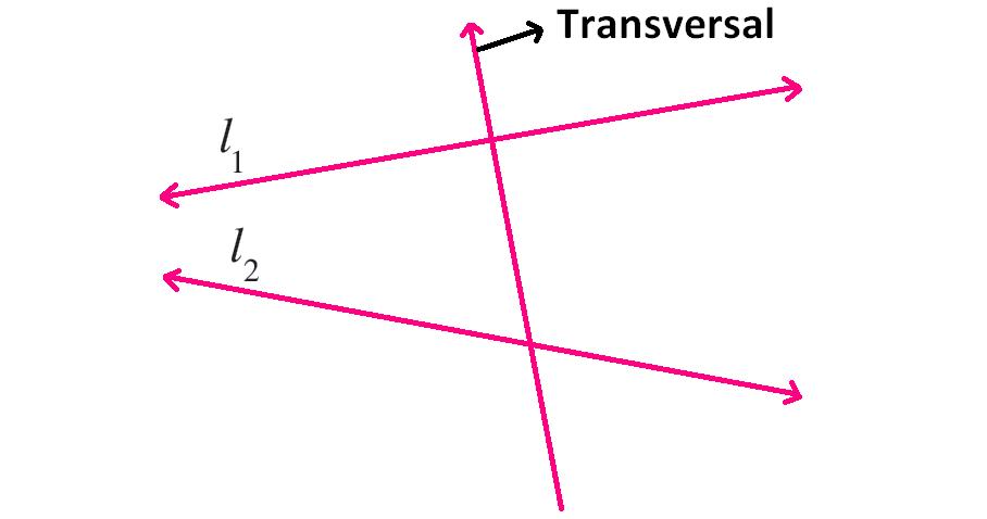 Transversal Lines Worksheet