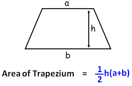how to find the area of a trapezoid Calculates the area of a trapezoid given two parallel sides and the height.
